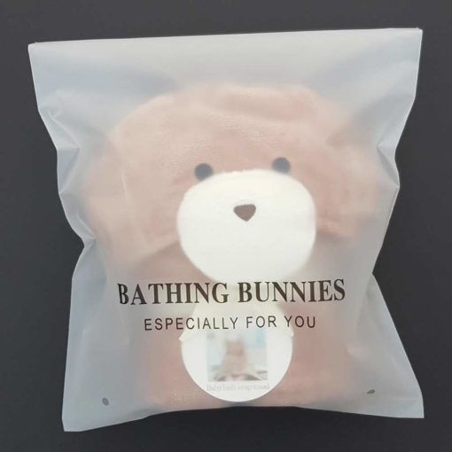 Chocolate Bunny Baby Towel Standard Packaging