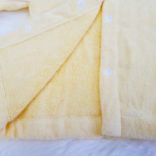 Yellow Duck Baby Bathrobe
