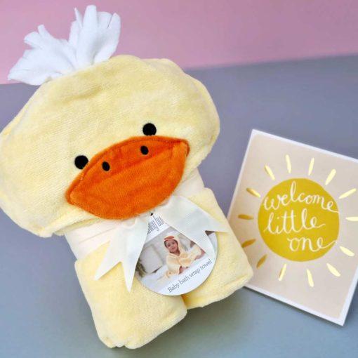 Cuddly Duck Baby Towel