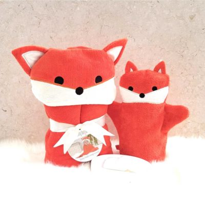 Red Fox Baby Gift Set
