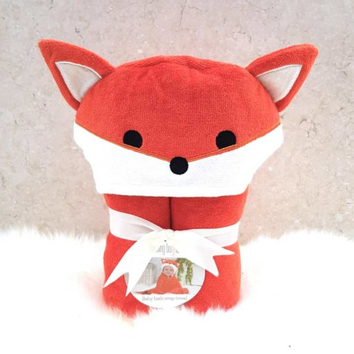 Fox Baby Hooded Towel