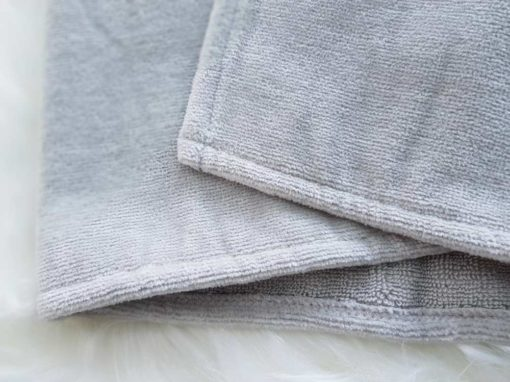 Grey Towelling Fabric
