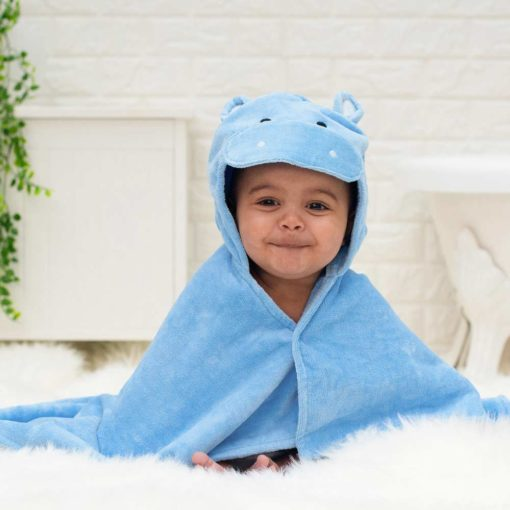 For Happy Hippo baby towel