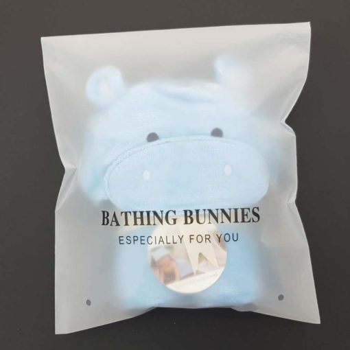 Hippo Baby Towel in standard packaging