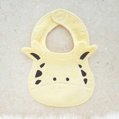Yellow Giraffe Baby Bib