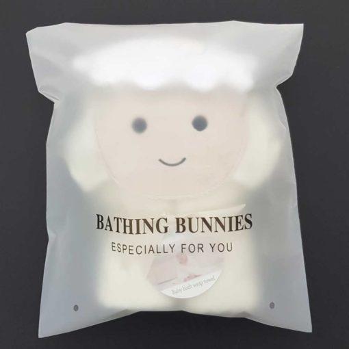 Lamb Baby Towel in standard packaging