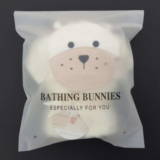 Long Eared Puppy Baby Towel in standard packaging