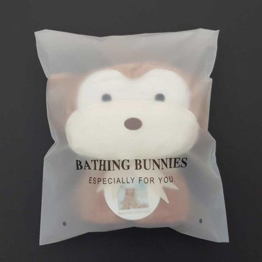 Monkey Baby Towel in standard packaging