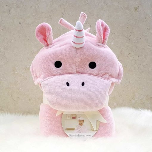 Unicorn Baby Hooded Towel