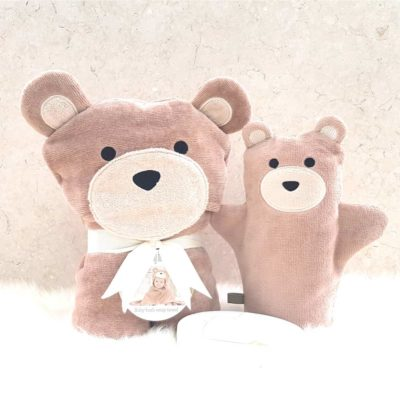 Brown Teddy Baby Gift Set
