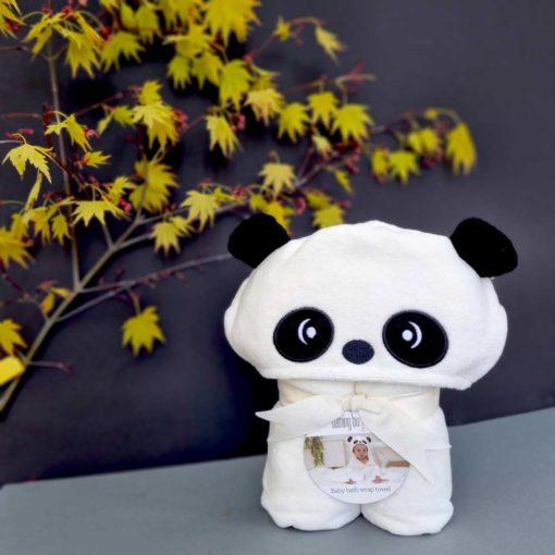 Little Pumpkin Panda baby towel