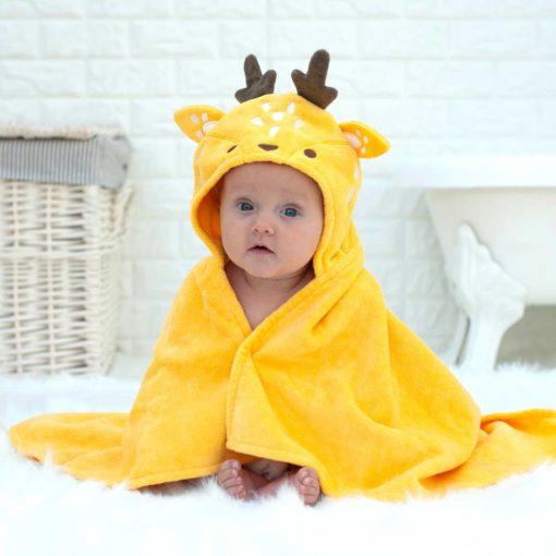 Personalised Buttercup the Deer Baby Towel