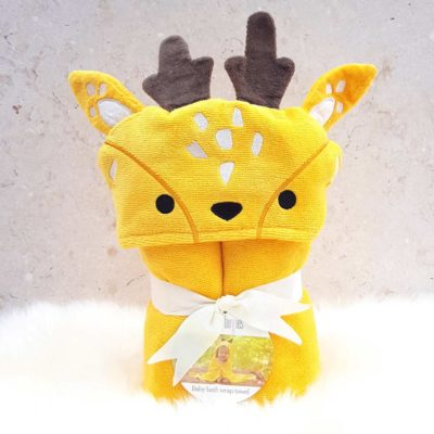 Buttercup the Deer baby towel