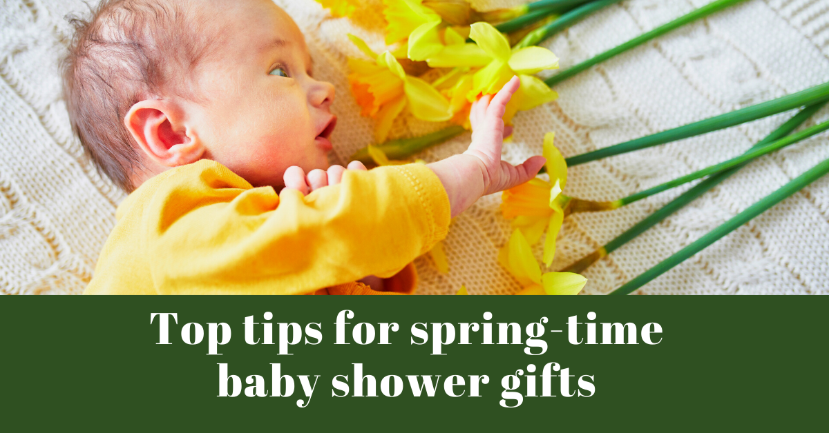 Spring-Time Baby Shower Gifts