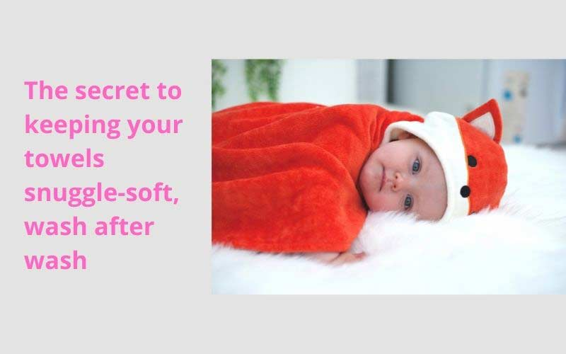 The Secret to keeping your towels snuggle-soft, wash after wash